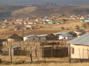 Rural village in the Eastern Cape province