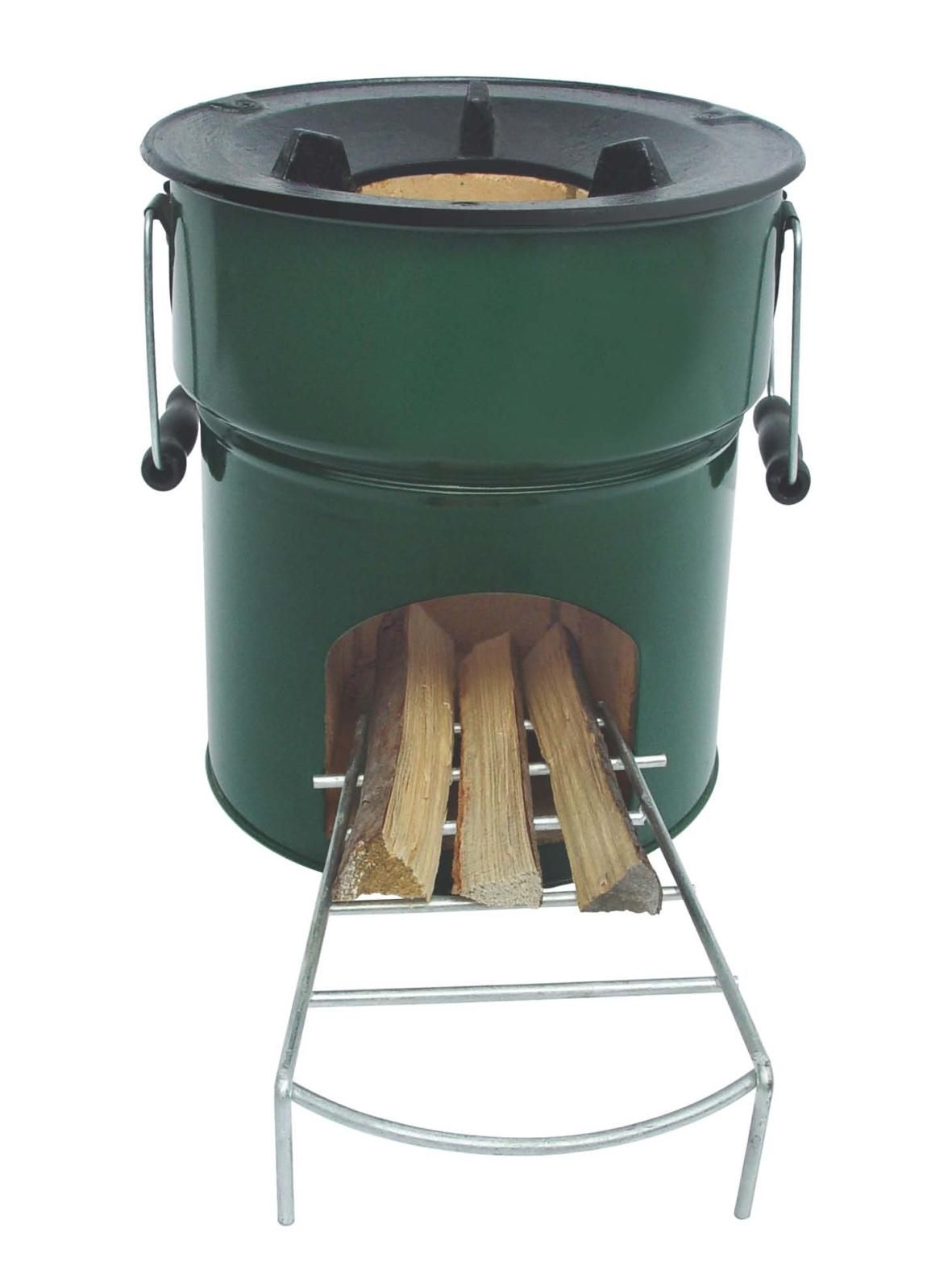 Rocket Stove Briquette ~ Wood stove vuthisa