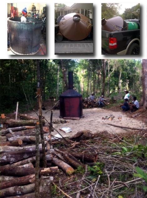 Biochar trials in Guatemala