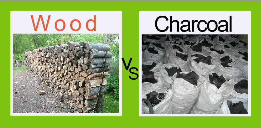 Is it better to burn wood or charcoal?  (1/2)