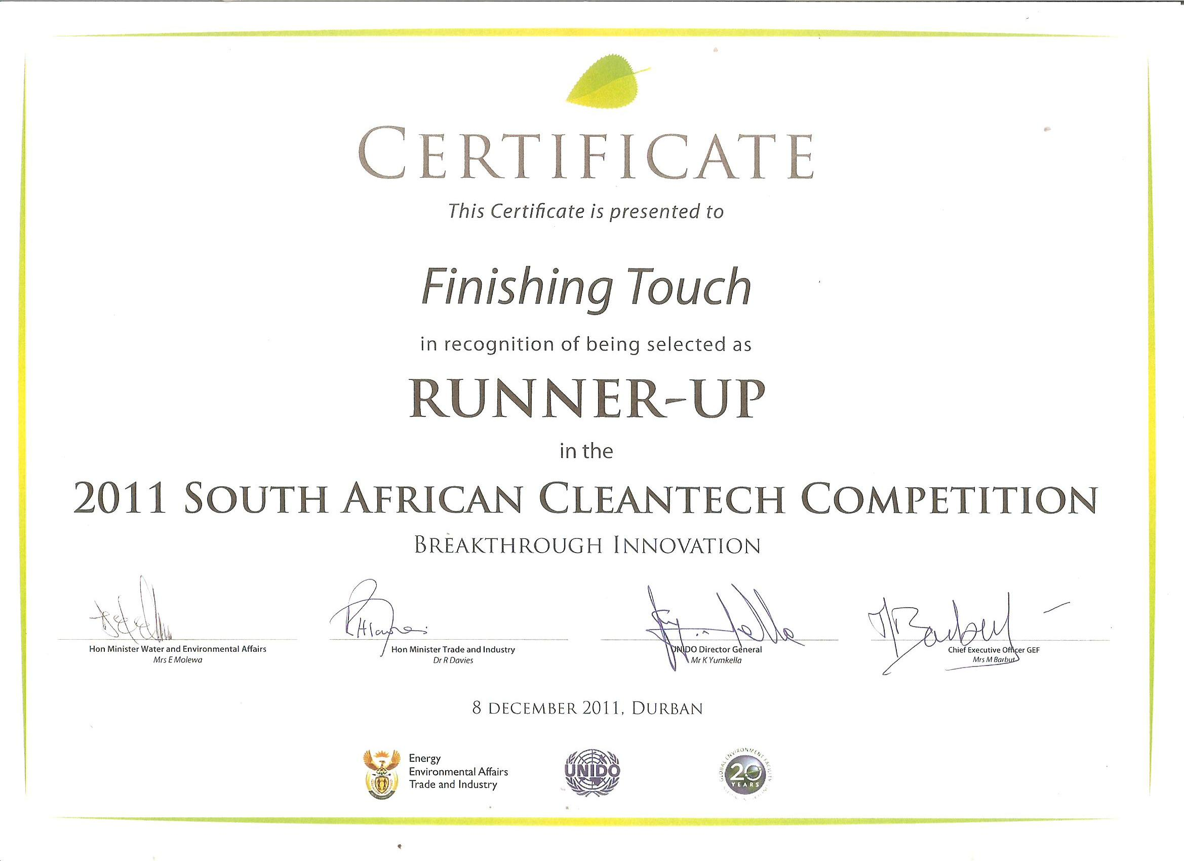 Energy Saving 2 Plate And 4 Electric Cooking Hob Vuthisa Electrical Wiring Certificate South Africa The Csir Invited Econohob In International Cleantech Open Competition For Breakthrough Innovation Run Conjunction With Cop 17 Durban